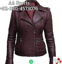 Women Leather Jacket Sialkot
