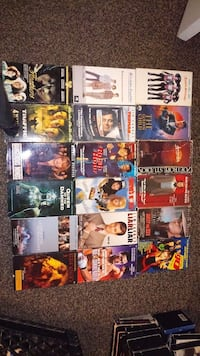 assorted VHS movie cases Fresno, 93726