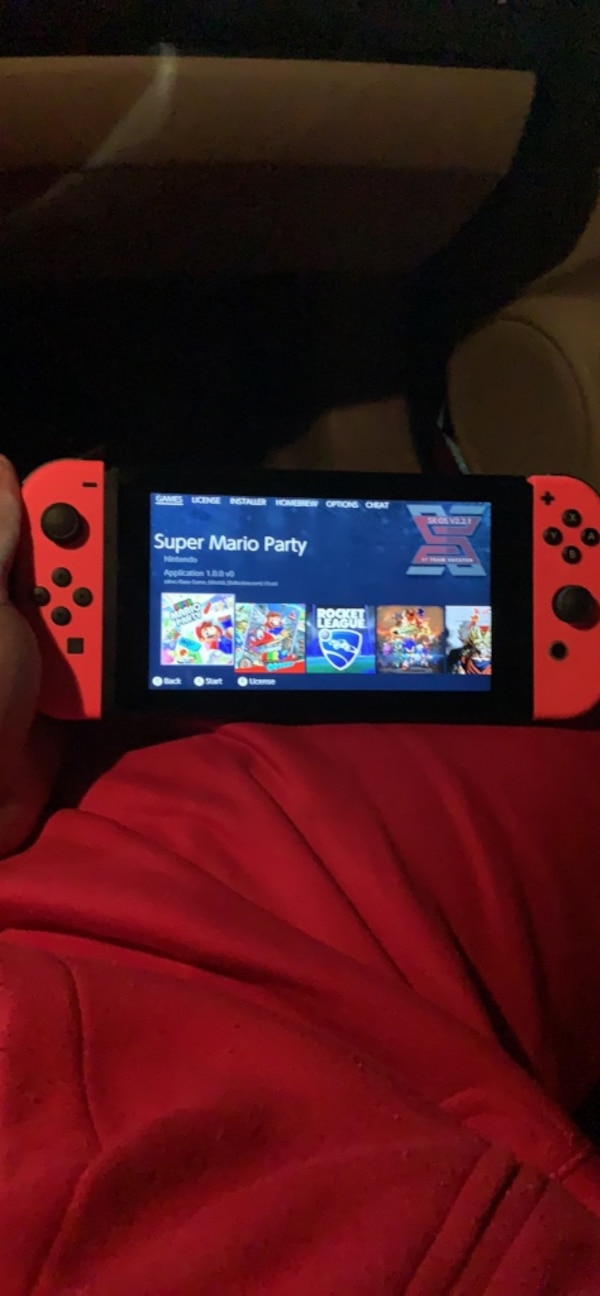 Jailbroken modded 512gb nintendo switch and modding other switches