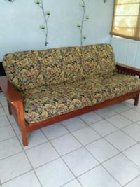 Queen futon bed and sofa like new Venice, 34293