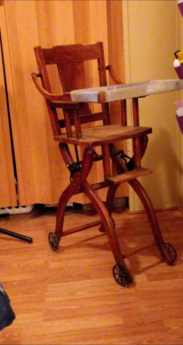 Used Antique Baby High Chair For Sale In Columbus Letgo