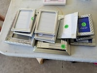 16 Silver Picture Frames