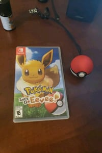 Pokemon let's go Evee with pokeball controller