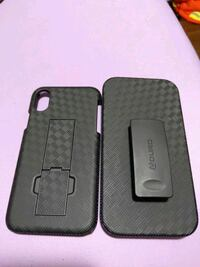 iPhone X phone case. Shell and holster combo case