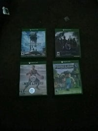 4 game xbox one games Oakland County, 48350
