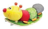 Eco-Friendly Wooden Rocking Caterpillar (by Softwood) Oakville