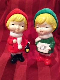 Set of vintage Christmas  ceramic figurines Toronto, M1P 4V9