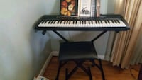 Casio keyboard with stand and stool Ft. Washington, 20744