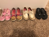 Girls Sperry shoes and coach sandals size 13 2   Lindenhurst, 60046
