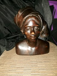 Vintage Hand Carved Tribal Statue Weymouth