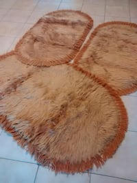 brown and red fur area rug Vaughan, L4L 5J2