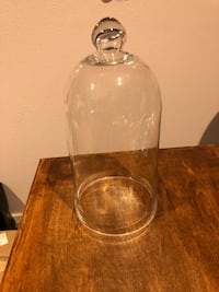 Clear Glass Apothecary Cloche Bell/Dome Display