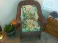WICKER ROCKER BRISTOW