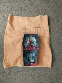 Autographed towel and figure Misfits Rochester, 14624