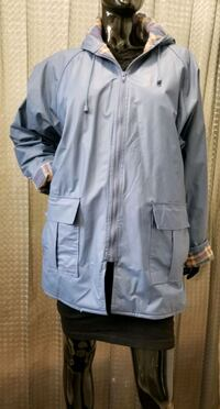 Hooded Raincoat by Misty Harbor XL