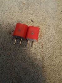 2 red sub plug in blocks  Edmonton, T5C 0S8