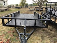 New 16' pipe top trailer