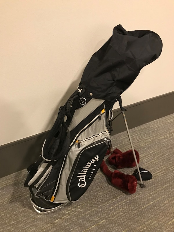 Callaway Golf Bag And Wilson Clubs