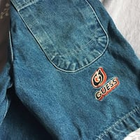 Vintage Guess Embroidered Jean Shorts Toronto, M1T 3C1