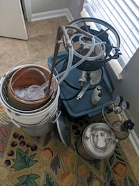 Beer making equipment