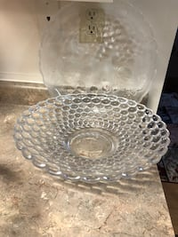 clear cut glass punch bowl Richmond Hill, L4C 9S5