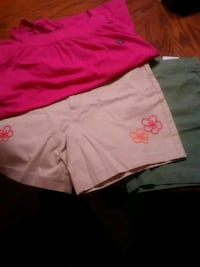 Two new pair of land's short 12, one lg 14 shirt Knoxville