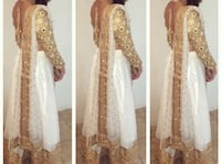 Indian suit/lengha with blouse and dupatta Surrey, V4N 3A2