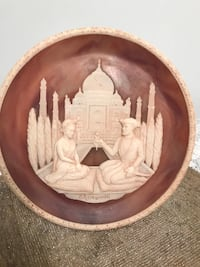 Taj Mahal Lovers Stone Plate Stafford Courthouse