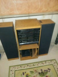 Emerson Entertainment System with Turntable
