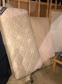 CLEAN mattresses. 35 each 60 for the pair Jackson, 49201