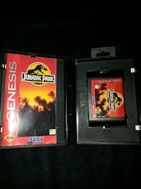 Jurassic park for sega genesis Kitchener, N2P 1R7