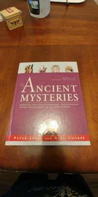 Ancient Mysteries by Peter James and Nick Thorpe book Martensville, S0K 0A2