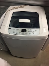 White top-load clothes washer Sterling