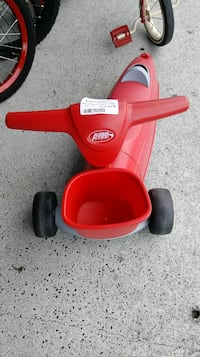 Radio flyer 2 in 1 ride n scoot