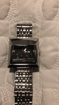 USED MEN VINTAGE AUTOMATIC SPACEMAN WATCH