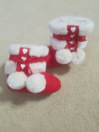 Baby gap red boots shoes size 3 NEW