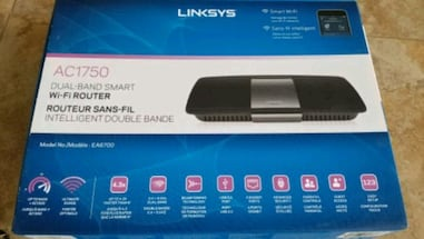 Linksys dual-band smart wi-fi router
