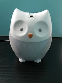 Skip Hop Moonlight & Melodies Owl Nightlight Soother, White