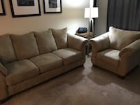 Olive 3-seat sofa and chair Alexandria, 22302