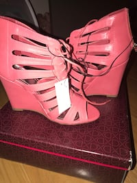 Pink ladies wedges