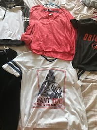 women's assorted clothes- size small through medium sold as lot