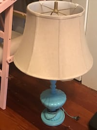White and blue table lamp Mooresville, 28115