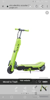 New viro rides vega 2 in 1 electric scooter new Ringgold, 30736