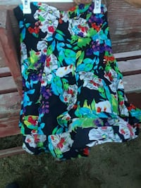 blue, green, and pink floral textile San Jose, 95133