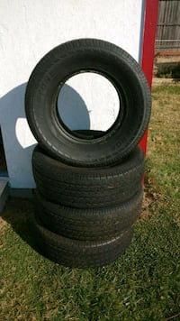 four black rubber car tires Hyattsville, 20783