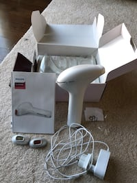 Philips Lumea IPL hair removal  Arlington, 22206