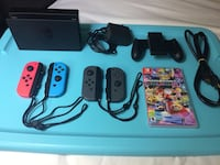 Nintendo Switch Dock w/ Controls, cables, Mario Kart Game Alexandria, 22312