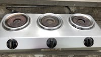 3 burner warmer .. for coffee or small pans.. electric