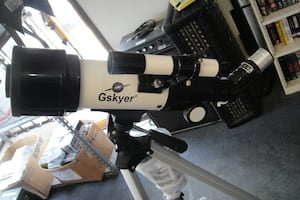 GSKYER 70mm Telescope With Tripod Case Instructions 7788-1