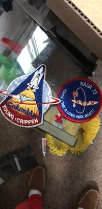 Assorted nasa patches 44 of them Salt Lake City, 84118